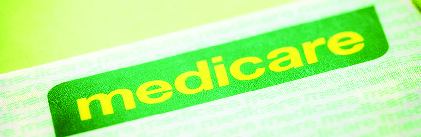 medicare logo on card