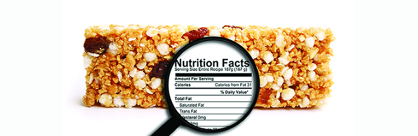 granola bar and nutrition facts